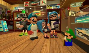 At the Toy Store (Splatoon GMOD) by Geoffman275