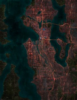Shadowrun Seattle by pigarzo