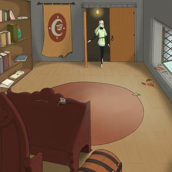 arrival into an empty room (finished) by spent-on-rainydays