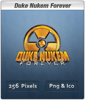 Duke Nukem Forever Icon by Th3-ProphetMan