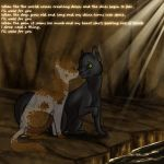 Hollyleaf and Fallen Leaves by timekept