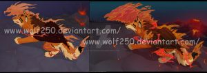 Awake the Fire Within You: 2009 VS 2014 by StarkHolmes