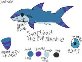 Sharkbait Reference Sheet by sharkdivus
