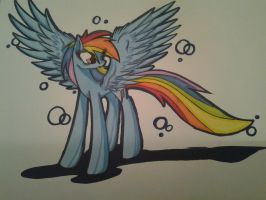Rainbow Dash for PandaPinkie by LShine