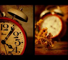Time Is Running Out by mywonderart