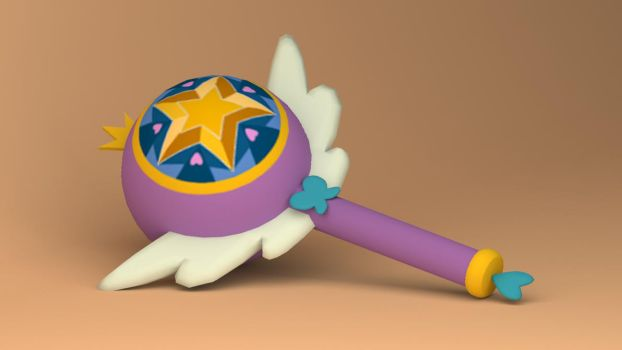 Royal Magic Wand by Star-Butterfly