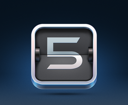 5minutes.to iOS Icon Design by Ramotion
