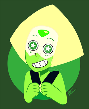 SU - the great and loveable peridot! by zettapoke