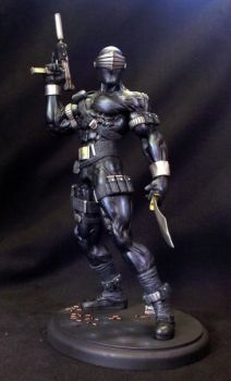 Snake Eyes Sculpture Front by ScottWhitworth