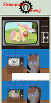 Chrono-Review#3: Fluttershy Learns In by Steampunk-Brony