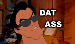 The Gaston and DAT ASS by kirbykrew