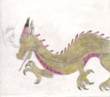 Chinese Dragon by ArtistGreyGhost