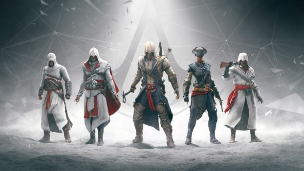 Five Years of Assassin's Creed by Lopez-The-Heavy