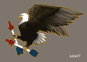 nose art eagle by joewight