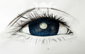 ... and the stars in her eyes. by ShyyBoyy