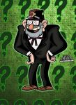 Grunkle Stan from Gravity Falls! by CreedStonegate