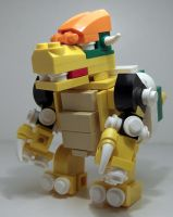 Lego bowser by pokechampof2008