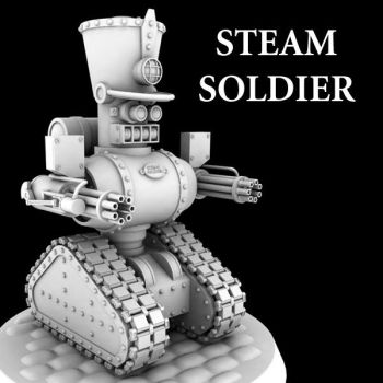 Steam Soldier by JamesMargerum