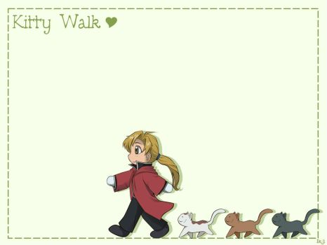 FMA Movie - Kitty Walk - wall by DejiNyucu