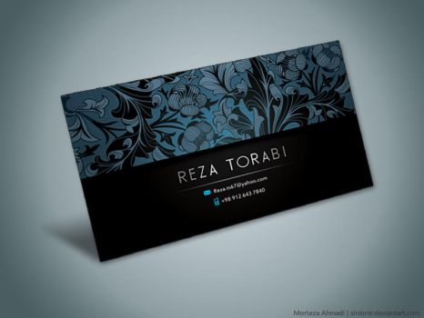 Business Card 4 by Sinior90