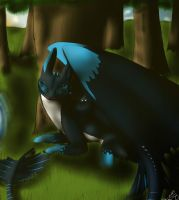 Peaceful Afternoon - Contest entry for Nitro by MizaT11