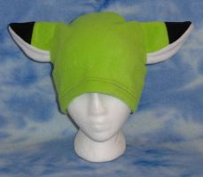 Lime Green Fox Hat Cosplay by HatcoreHats