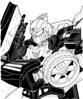 Shattered Glass Goldbug by MSipher