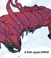 Scolipede by Blue-Uncia