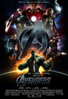 """The Avengers"" Movie Poster by themadbutcher"