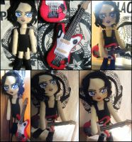 Sexy Brian Molko Plushie by PlacebicYue