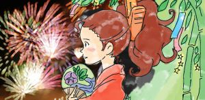 Beautiful Japan_Arrietty by asami-h