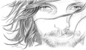 Aragorn - 20 minutes drawing by dharma-dvg