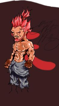 Akuma By Artydraw-d4zw9fi by artydraw