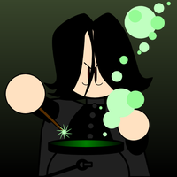 Snape by cabal-art