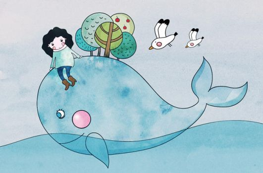 whale rider by lettipaa