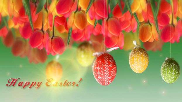 Easter_wallpaper by IgnisFatuusII