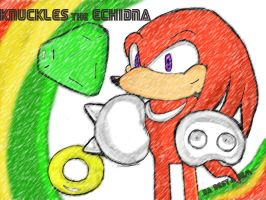 Knuckles by CandyGunso