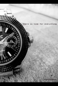 There is time for EVERYTHING.. by El-hussieny