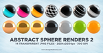 Abstract Sphere Renders 2 by DesignFathoms