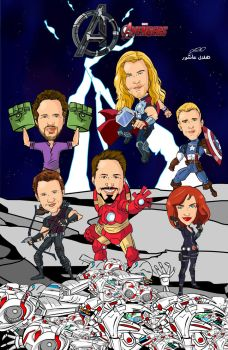 avengers age of ultron by superhilalo