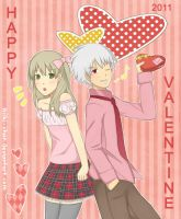 soul eater happy valentine by niiki-chan