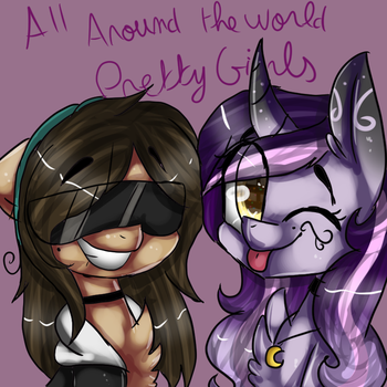 (collab) All around the world pretty girls by Luxyna-Moon