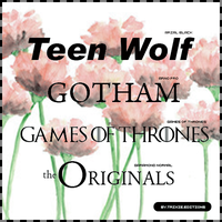 Tv Series  fonts 1 by ShinningButterfly