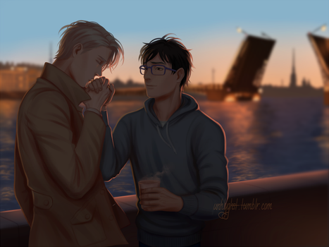 170217 - Viktuuri - White night by unhlyghst