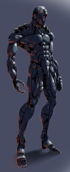 Quick Cyborg Thing 04 by Sunny-GO