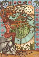 Dryad by Starfeather