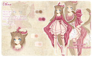 Ethna reference sheet by Miyee