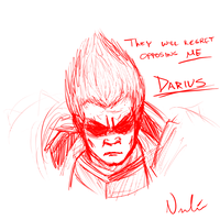 Darius, the Hand of Noxus by vicariousVisionary