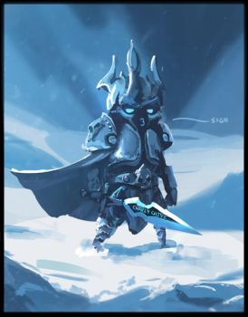 Lich King by CharlyChive
