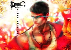 DMC: Devil May Cry_Dare of Fire by FleshCreature